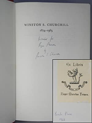 Winston S. Churchill, The Official Biography, Volume I, Youth, 1874-1900, a family association co...