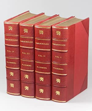Marlborough: His Life and Times, full set of four British first edition, first printings finely ...