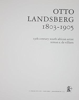 Otto Landsberg 1803-1905: Simon A. De Villiers