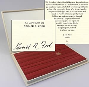 Churchill Lecture: An Address by Gerald R. Ford at the English-Speaking Union, London, England, N...