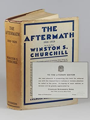 The World Crisis: The Aftermath, 1918-1928, review copy of the first U.S. edition