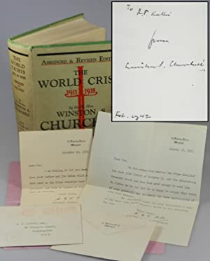 A small Second World War archive chronicling gifts exchanged by Winston Churchill and an Austrian...