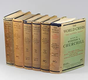 The World Crisis, full set of six British first edition, first printings, in dust jackets