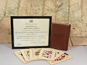 A British Soldier's First World War Keepsakes Comprising: a commendation for gallantry from Secre...
