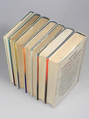 The War Speeches, a full set of seven British first editions - Into Battle, The Unrelenting ...