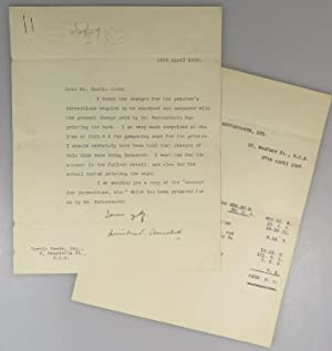 28 April 1927 Typed Signed Letter from Winston S. Churchill on Chancellor of the Exchequer statio...