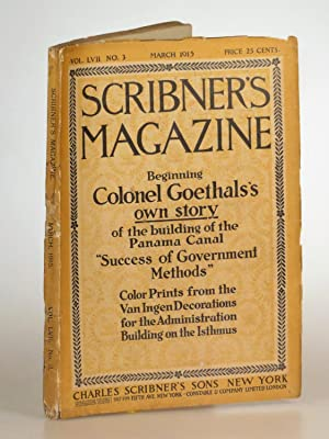Scribner s Magazine March 1915, containing a serialization of John Galsworthy s The Freelands and...