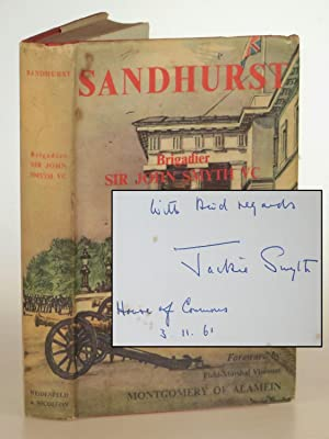 Sandhurst, a presentation copy signed and dated by the author in the House of Commons in the year...