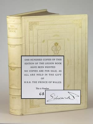 The Legion Book, the extraordinary limited issue of the first edition, finely bound and signed by...