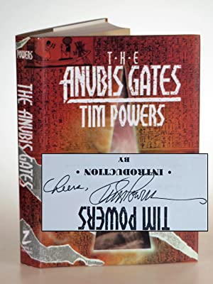 The Anubis Gates, inscribed twice by the author