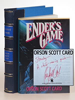 Ender's Game, a jacketed publisher's pre-publication Uncorrected Proof copy, inscribed by the aut...