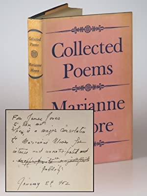 A compelling association copy of Marianne Moore?s Pulitzer Prize and National Book Award-winning ...