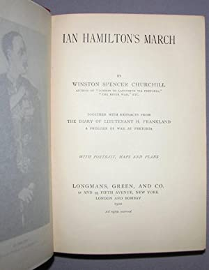 Ian Hamilton's March: Winston S. Churchill