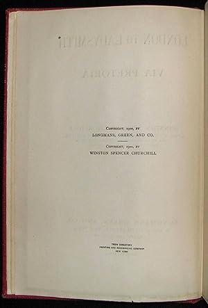 London to Ladysmith via Pretoria: Winston S. Churchill