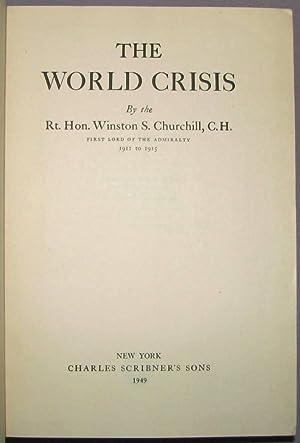 The World Crisis: Winston S. Churchill