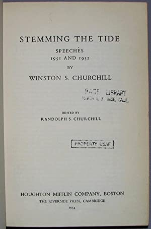 Stemming the Tide: Winston S. Churchill