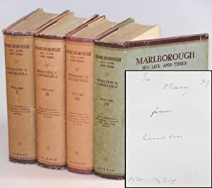 Marlborough: His Life and Times, a full set of jacketed British first editions inscribed and date...