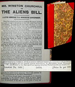 Mr. Winston Churchill on the Aliens Bill
