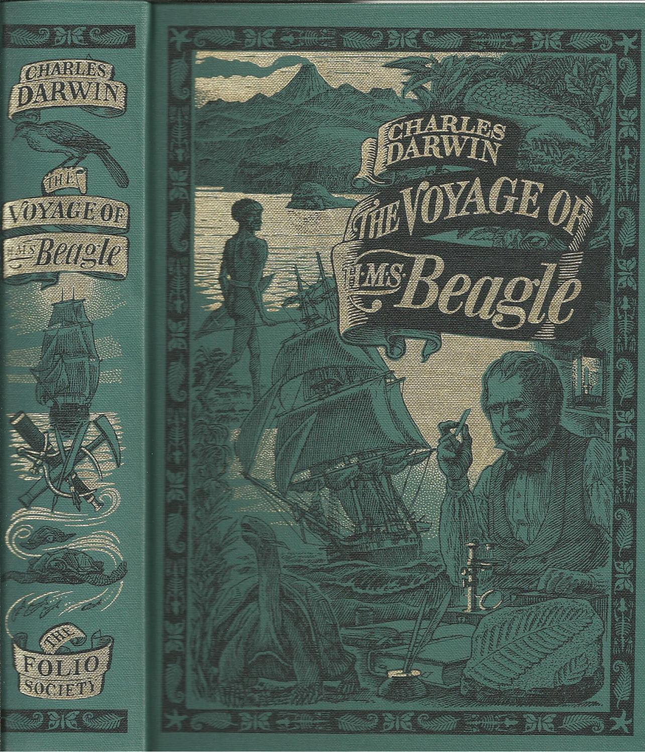The Voyage Of H M S Beagle By Darwin Charles Como Novo As New