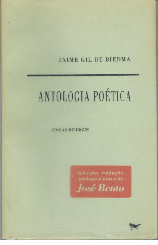 ANTOLOGIA POÉTICA - GIL DE BIEDMA, Jaime