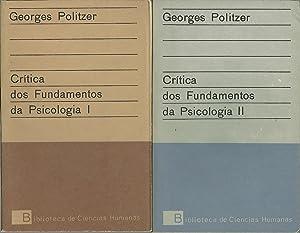 CRÍTICA DOS FUNDAMENTOS DA PSICOLOGIA: POLITZER, Georges