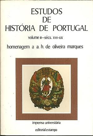 ESTUDOS DE HISTÓRIA DE PORTUGAL. Volume II: VV.AA