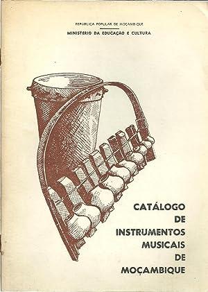 CATÁLOGO DE INSTRUMENTOS MUSICAIS DE MOÇAMBIQUE