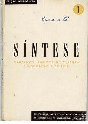 SÍNTESE - Cadernos Ibéricos de Cultura Informação e Crítica. ...