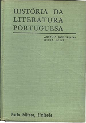 HISTÓRIA DA LITERATURA PORTUGUESA: SARAIVA & LOPES,