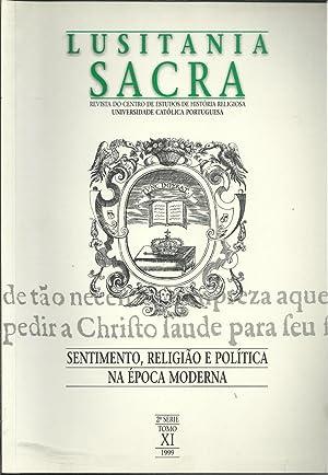 LUSITANIA SACRA. Revista do Centro de Estudos de História Religiosa. 2ª Série. ...