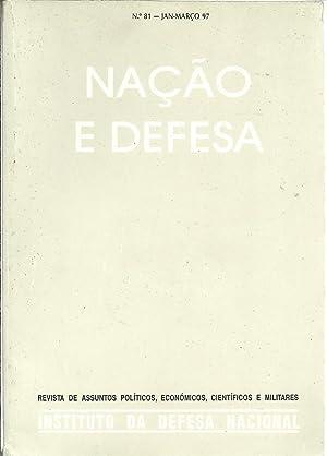 NAÇÃO E DEFESA. Ano XXII - Nº