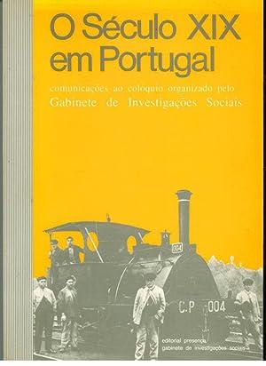 O SÉCULO XIX EM PORTUGAL. Comunicações ao