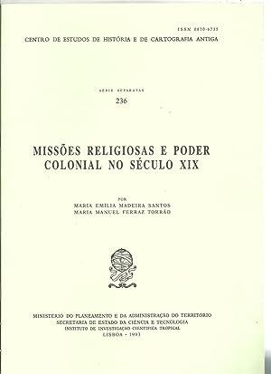 MISSÕES RELIGIOSAS E PODER COLONIAL NO SÉCULO: SANTOS & TORRÃO,