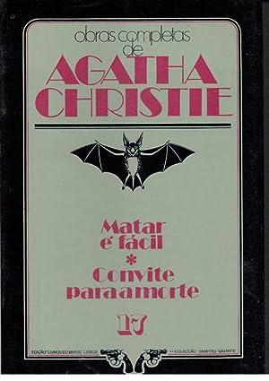 MATAR É FÁCIL - CONVITE PARA A: CHRISTIE, Agatha (1890-1976)