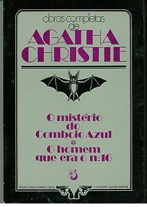O MISTÉRIO DO COMBOIO AZUL - O: CHRISTIE, Agatha (1890-1976)