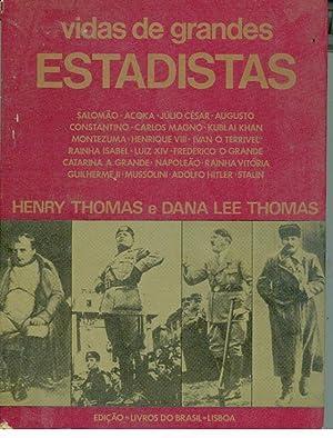 VIDAS DE GRANDES ESTADISTAS: THOMAS, Henry -