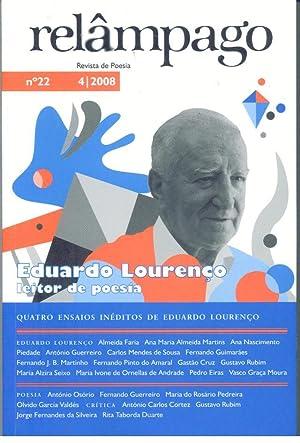 RELÂMPAGO. Revista de Poesia Nº 22: CRUZ, Gastão (Director)