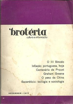 BROTÉRIA - Cultura e Informação. nº 12: REVISTA