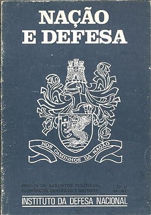 NAÇÃO E DEFESA. Ano VI - Nº