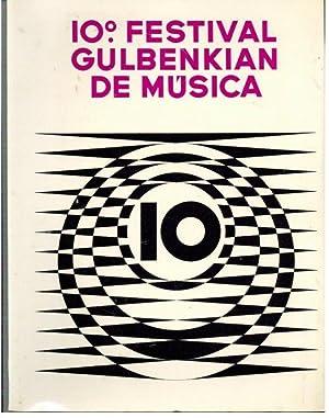 10º FESTIVAL GULBENKIAN DE MÚSICA