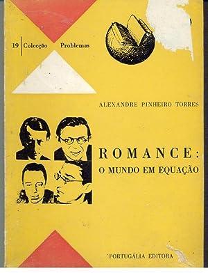 ROMANCE: O MUNDO EM EQUAÇÃO: TORRES, Alexandre Pinheiro