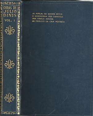 OBRAS DE JÚLIO DINIS: Volume I: As: DINIS, Júlio
