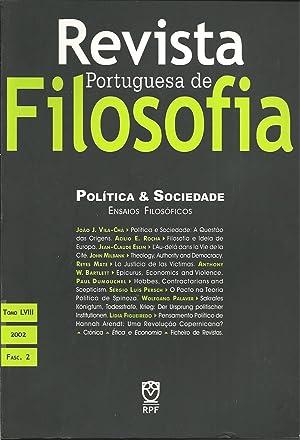 REVISTA PORTUGUESA DE FILOSOFIA: Política & Sociedade: VILA-CHÃ, João J.