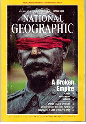 NATIONAL GEOGRAPHIC. Vol 183, Nº 3