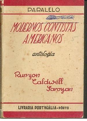 MODERNOS CONTISTAS AMERICANOS: RUNYON & CALDWELL & SOROYAN, Damon - Erskine - William