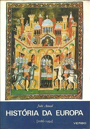 HISTÓRIA DA EUROPA. Volume II [1086-1494]: AMEAL, João (1902-1982)