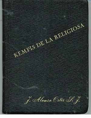 KEMPIS DE LA RELIGIOSA: ALONSO ORTIZ, Juan S. J.