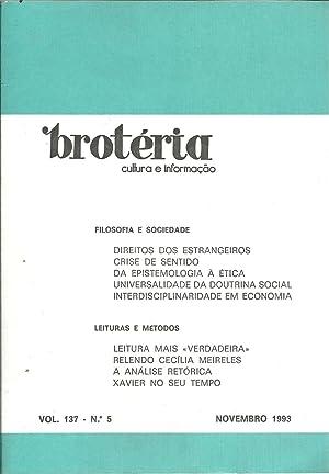 BROTÉRIA - Cultura e Informação. nº 5: REVISTA
