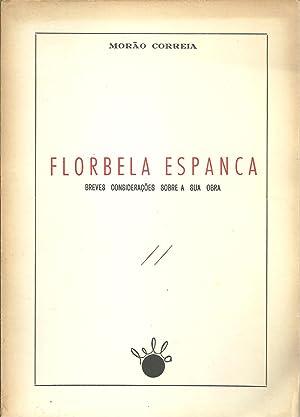 FLORBELA ESPANCA: Breves considerações sobre a sua: CORREIA, Morão