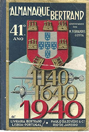 ALMANAQUE BERTRAND 1940